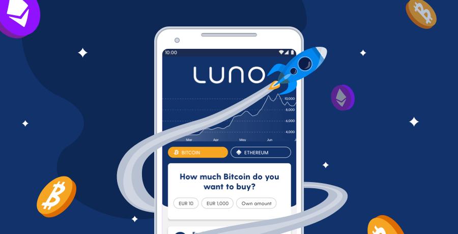 Luno - 15 euro za zakup bitcoina