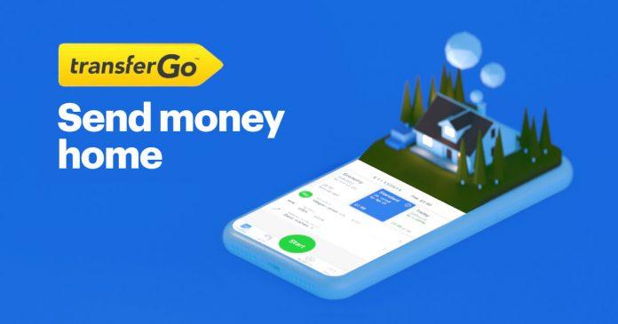 TransferGo - przycisk wejścia w sposób zarobku