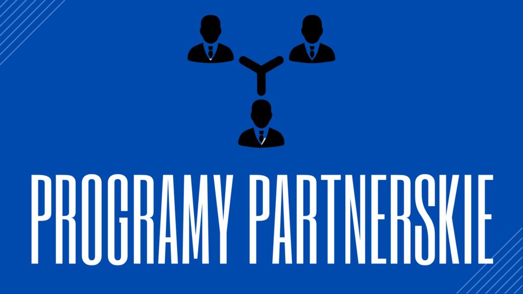 Programy Partnerskie - przycisk wejścia