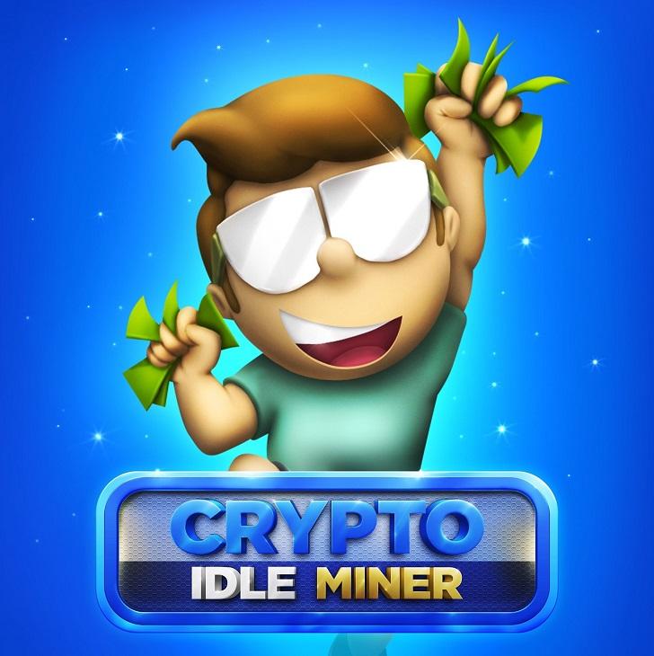 crypto idle miner przycisk wejscia